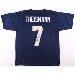 "Joe Theismann Signed Notre Dame Fighting Irish Jersey Inscribed ""CHOF 2003"" (JSA COA)"