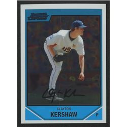 2007 Bowman Chrome Draft Future's Game Prospects #BDPP77 Clayton Kershaw