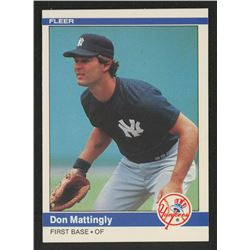 1984 Fleer #131 Don Mattingly RC