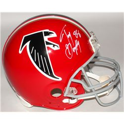 Tony Gonzalez Signed Falcons Full-Size Authentic On-Field Helmet (Radtke COA)