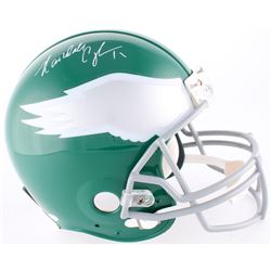 Randall Cunningham Signed Eagles Full-Size Authentic On-Field Helmet (JSA COA)