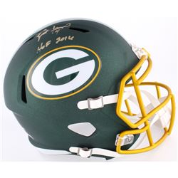 "Brett Favre Signed LE Packers Full-Size Blaze Speed Helmet Inscribed ""HOF 2016"" (Favre Hologram)"