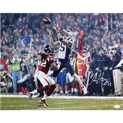 Chris Hogan Signed Patriots 16x20 Photo (JSA COA)