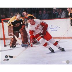 "Gordie Howe Signed 16x20 Photo Inscribed ""Mr. Hockey"" (JSA COA)"