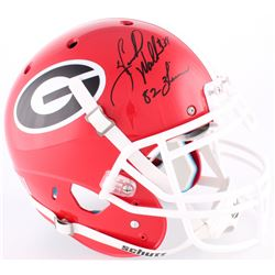 "Herschel Walker Signed Georgia Bulldogs Full Size Authentic On-Field Helmet Inscribed  ""82 Heisman"""