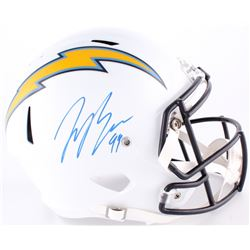 Joey Bosa Signed Chargers Full-Size Speed Helmet (Radtke COA)