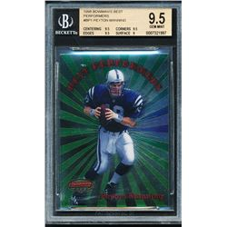 1998 Bowman's Best Performers #BP1 Peyton Manning (BGS 9.5)