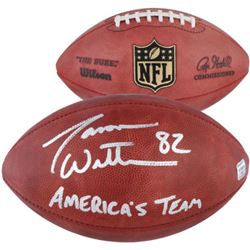 "Jason Witten Signed ""The Duke"" Official NFL Game Ball Inscribed ""America's Team"" (Fanatics)"