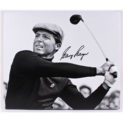 Gary Player Signed 20x24 Giclee Stretched Canvas (UDA COA)