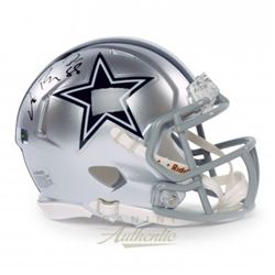 Dez Bryant Signed Cowboys Speed Mini Helmet (Panini COA)