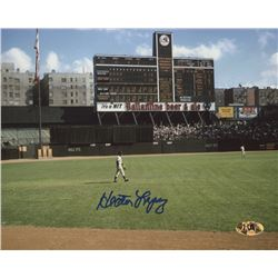 Hector Lopez Signed Yankees 8x10 Photo (MAB Hologram)