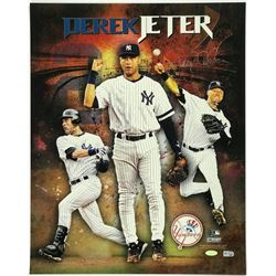 Derek Jeter Signed Yankees 16x20 Photo (Steiner COA  MLB Hologram)