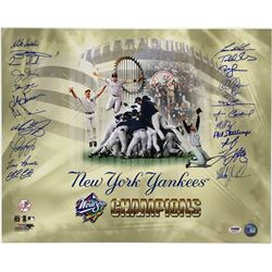 1998 New York Yankees World Series Champions 16x20 Photo Team-Signed by (23) with Tino Martinez, Chi