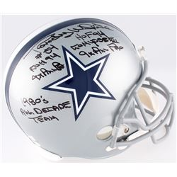 Randy White Signed Cowboys Full-Size Helmet With (5) Inscriptions (JSA COA  Radtke COA)