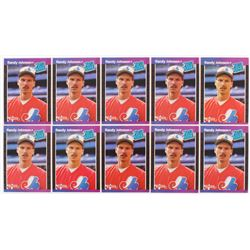 Lot of (10) 1989 Donruss #42 R.Johnson RC RR