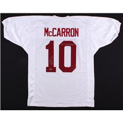 "AJ McCarron Signed Alabama Crimson Tide Jersey Inscribed ""36-4 Career Record"" (Radtke COA)"