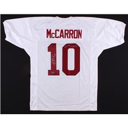 "AJ McCarron Signed Alabama Crimson Tide Jersey Inscribed ""We Own Alabama"" (Radtke Hologram)"