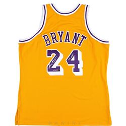 """Kobe Bryant Signed Limited Edition Lakers Jersey Inscribed """"08 MVP"""" (Panini COA)"""