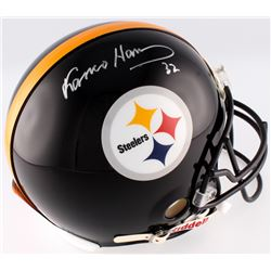 Franco Harris Signed Steelers Full Size Authentic On-Field Helmet (Radtke COA  Harris Hologram)