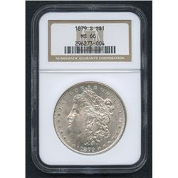 1879-S Morgan Silver Dollar (NGC MS 66)