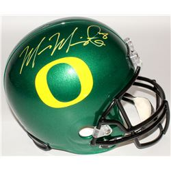 Marcus Mariota Signed Oregon Ducks Full-Size Helmet (Mariota Hologram)