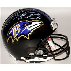 Steve Smith Sr. Signed Ravens Full-Size Authentic On-Field Helmet (Smith COA)