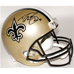 Drew Brees Signed Saints Full-Size Helmet (Brees Hologram)