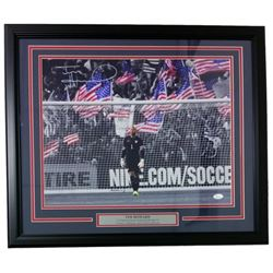 Tim Howard Signed Team USA 22x27 Custom Framed Photo Display (JSA COA)