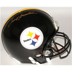 Terry Bradshaw Signed Steelers Full-Size Authentic On-Field Helmet (Steiner COA  Bradshaw Hologram)