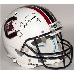 Connor Shaw Signed South Carolina Gamecocks Full-Size Helmet (Radtke COA)