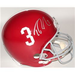 Trent Richardson Signed Alabama Crimson Tide Full-Size Helmet (Radkte COA)