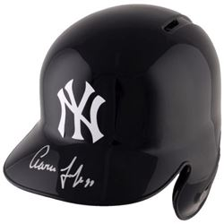 Aaron Judge Signed Yankees Full-Size Batting Helmet (Fanatics  MLB Hologram)