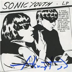 "Thurston Moore Signed Sonic Youth ""Goo"" CD Insert (PSA Hologram)"
