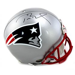 Tom Brady Signed Patriots Full-Size Authentic Pro-Line Helmet (TriStar)
