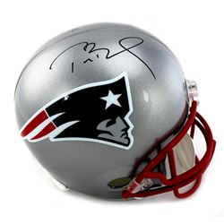Tom Brady Signed Patriots Full-Size Helmet (TriStar)