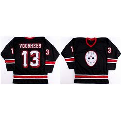 "Kane Hodder Signed Jason Voorhees ""Friday the 13th"" Hockey Jersey Inscribed ""Jason 7, 8, 9, X"" (PA C"