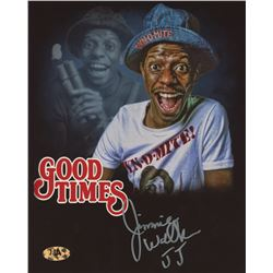 "Jimmie Walker Signed ""Good Times"" 8x10 Photo Inscribed ""JJ"" (MAB)"