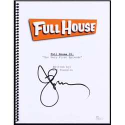 "John Stamos Signed ""Full House: Episode One"" Full Episode Script (JSA COA)"