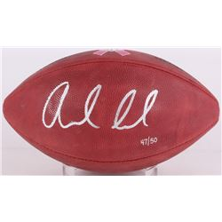Andrew Luck Signed LE Breast Cancer Awareness Official NFL Game Ball (JSA COA)