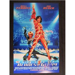 "Will Ferrell  Jon Heder Signed ""Blades of Glory"" 11x17 Photo Inscribed ""Capture the Dream"" (PSA Holo"