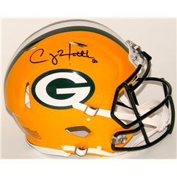 Clay Matthews Signed Packers Full-Size Authentic On-Field Speed Helmet (Matthews Hologram)