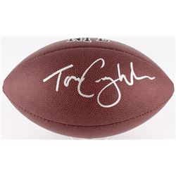 Tom Coughlin Signed Official NFL Football (JSA COA)