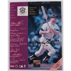 Mickey Mantle Signed LE 1992 Upper Deck Holiday Gift Catalog Collectors Edition No. 1 (JSA ALOA)