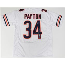 "Walter Payton Signed Bears Jersey Inscribed ""Sweetness"", ""MVP 1977"", ""HOF 1993"", ""Super Bowl XX""  ""1"