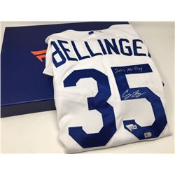 "Cody Bellinger Signed Dodgers Jersey Inscribed ""2017 NL ROY"" (Fanatics  MLB)"