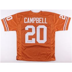 Earl Campbell Signed Texas Longhorns Jersey (PSA COA)