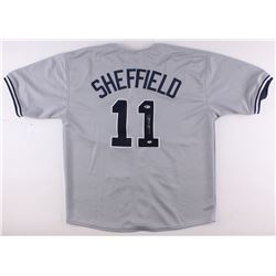 Gary Sheffield Signed Yankees Jersey (Beckett COA  Sheffield Hologram)