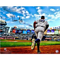 "Aaron Judge Signed Yankees ""Running out of the Dugout"" 16x20 Photo (Fanatics  MLB)"