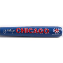 John Mallee Signed Franklin Cubs Mini-Bat (Schwartz COA)