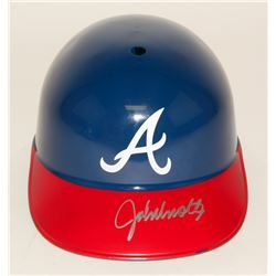John Smoltz Signed Braves Full Size Batting Helmet (JSA COA)